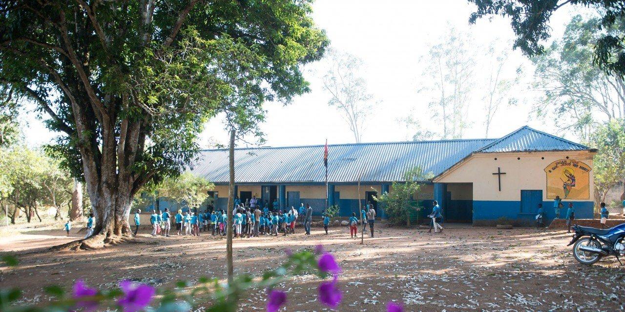 Image: The primary school in Quitila