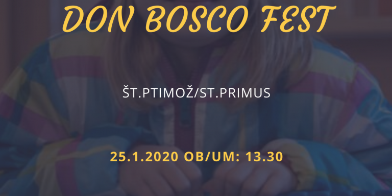 Image for the entry: Don Bosco Feast 2020