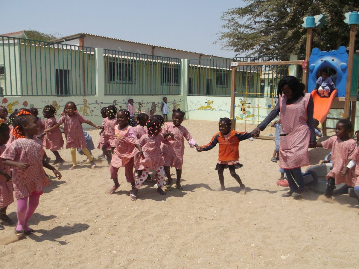 Image: Image for the entry: Kindergarten in Benguela